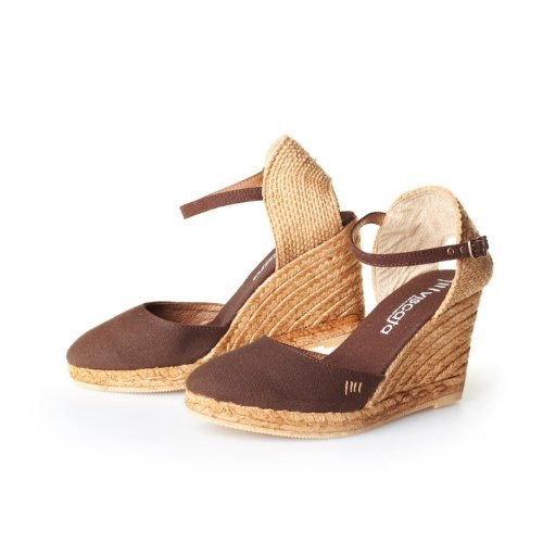 Satuna - Brown EU39 (Heel Sandale Strap Wedge)
