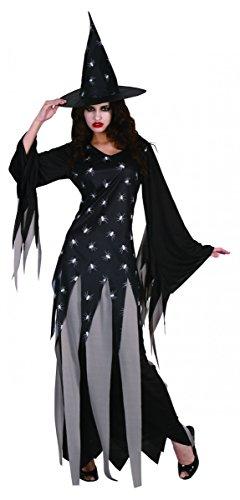 Hexen-Kostüm Damen Halloween (Kostüme Halloween Hexe Damen)