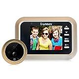 XGLL Intelligente Türspion Kamera WLAN Video Türklingel Home Security-Türspion mit Türklingel-Bewegungserkennung Infrarot-Nachtsicht mit Kamera Foto und Video aufnehmen