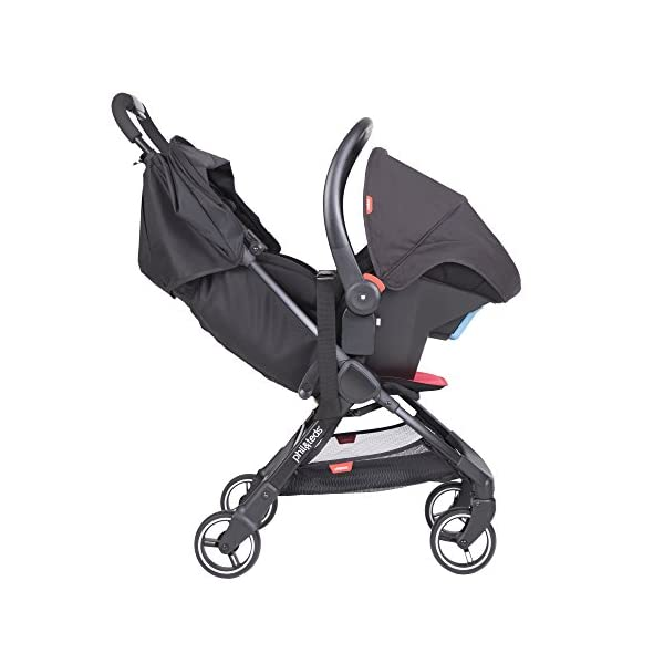 Phil & Teds Go V1, Buggy, Pushchair-Lemon phil&teds Package Included: 1Phil & Teds go pushchair Lemon Includes removable front strap With Seat Cushion 6