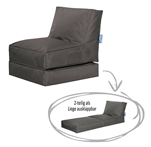 SITTING POINT only by MAGMA Sitzsack Scuba Twist anthrazit