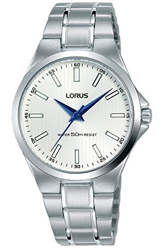 Lorus Classic Montre Femme Analogique Quartz avec Bracelet Acier Inoxydable RG233PX9