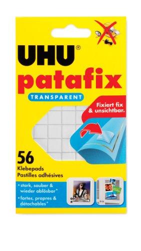uhu-48815-patafix-56-pad-adesivi-a-doppia-faccia-colore-trasparente