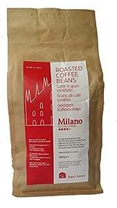Sogno SI Whole Coffee Beans Milano Italian Blend, Medium Roasted, 1kg by Sogno Italiano