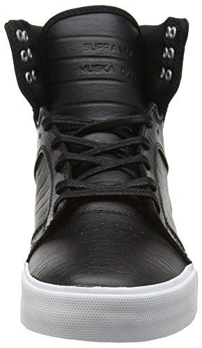 Supra Unisex-Erwachsene Skytop High-Top Schwarz (BLACK - WHITE BKW)