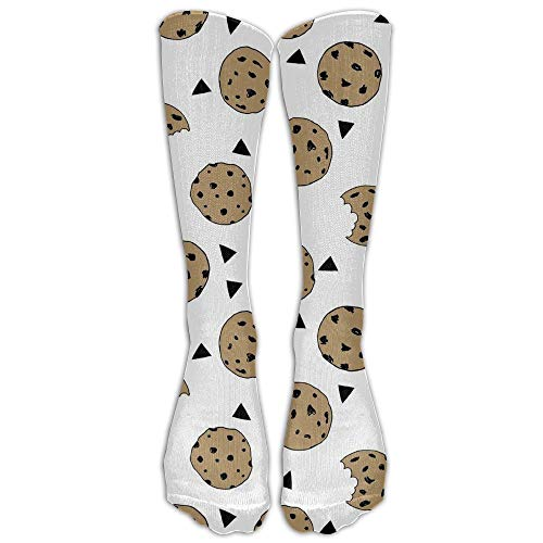 REordernow Cookies Food Chocolate Chip Biscuits Compression Socks For Men & Women,Graduated Athletic Socks Reduce Muscle Soreness,Best For Running,Sport,Travel,Nurses,Medical,Pregn Socken