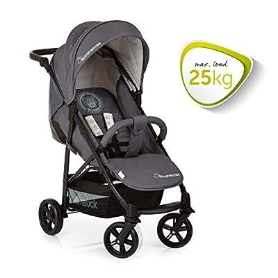 Hauck Buggy Rapid 4X oder Rapid 4S mit Liegefunktion, klein zusammenklappbar / für Kinder ab Geburt bis 25 kg