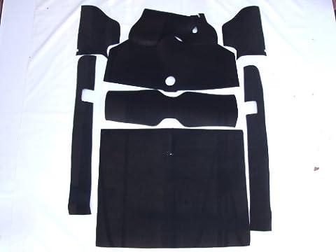AUSTIN Allegro classique tapis complet noir