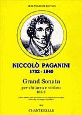 Grand Sonata: M.S.3. Violine und Gitarre. Partitur und Stimme.