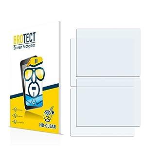 BROTECT Schutzfolie für Nintendo DS [2er Pack] – klarer Displayschutz