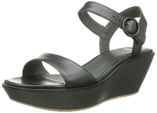 CamperDamas - Sandali  donna , nero (Black (Black 033)), 40