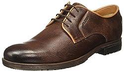 Ruosh Mens Tan Boots - 10 UK/India (44 EU)(LONDON AW16 03 A)