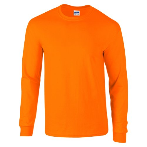 Ultra Cotton Classic Fit Adult T-Shirt - Farbe: Safety Orange - Größe: M -
