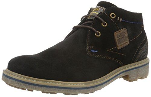 bugatti-311179511400-stivali-desert-boots-uomo-nero-schwarz-1000schwarz-1000-41-eu