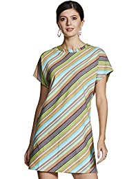 ABOF Cotton a-line Dress