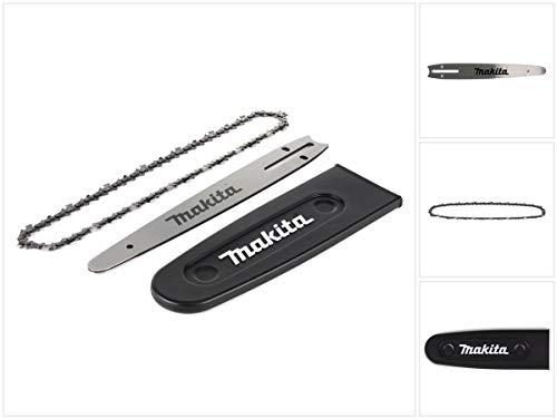 Makita Carving Zubehör Set für Kettensägen Sägeschiene mit Sägekette und Sägekettenschutz