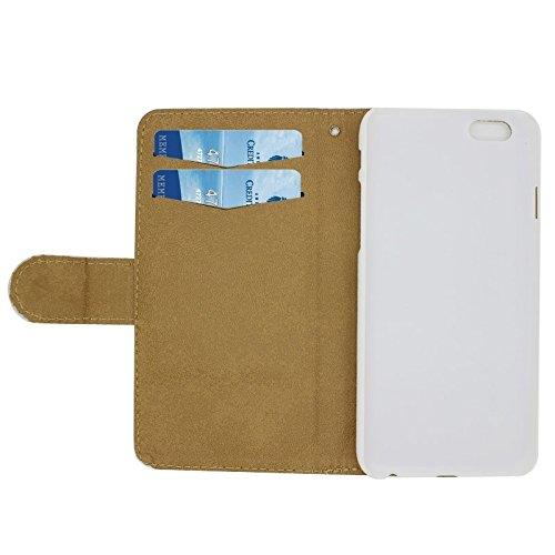 Phone case & Hülle Für iPhone 6 Plus / 6S Plus, Litchi Textur Schmetterling Fairy Diamond verkrustete Ledertasche mit Halter und Card Slots ( SKU : S-IP6P-0444N ) S-IP6P-0444J