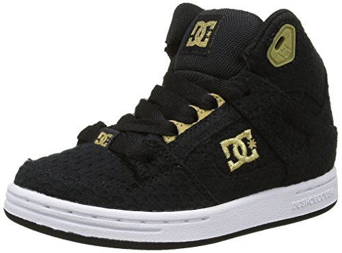 dc-shoes-rebound-tx-se-zapatillas-altas-para-nias-negro-black-gold-39-eu
