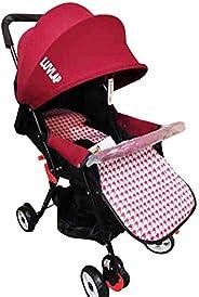 LuvLap Smart twist rotating luxury stroller(Red)