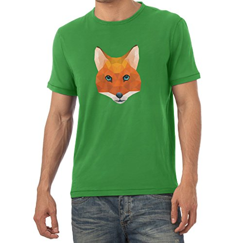 TEXLAB - Poly Mr. Fox - Herren T-Shirt Grün