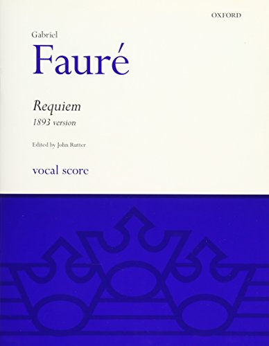 Requiem (1893 version): Vocal Score (Classic Choral Works)