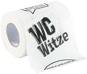infactory WC Papier: Toilettenpapier Witze, 1 Rolle (Fun Toilettenpapier Rollen)