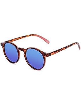CORAL Sunglasses SANTA BARBARA - Gafas de sol carey y lentes espejo revo azul polarizadas. Acabado mate.