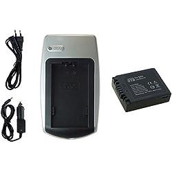Chargeur + Batterie pour Panasonic Lumix DMC-FZ1, FZ2, FZ3, FZ4, FZ5, FZ10, FZ15, FZ20