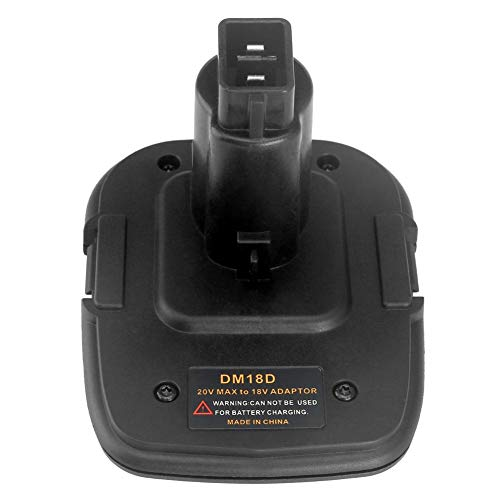 Miss-an Akku-Adapter DM18D konvertiert in Li-Ion-Ladegerät Werkzeug Konverter für Dewalt-Batterien - Volt Usb 20 Dewalt