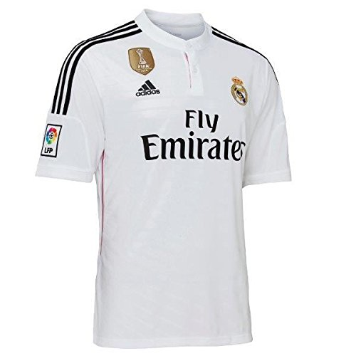 3a222bb2a8b adidas First Team Real Madrid 2014 2015 Official Shirt -
