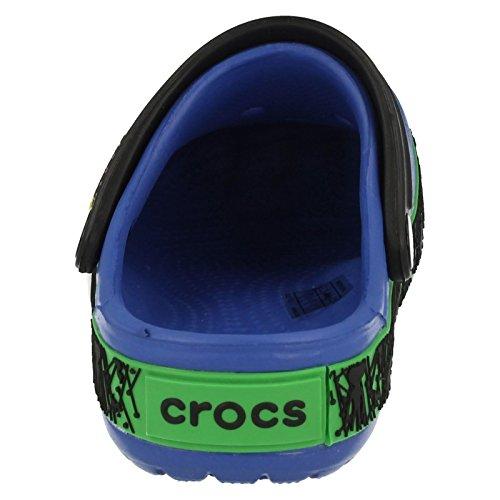 Garçons Ben 10Croco Mule Sandales CROCBAND Ben 10pour enfant Sea Blue/Black