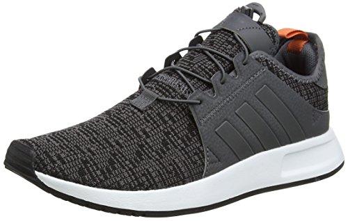 adidas Herren X_PLR Sneaker, Grau Grey Five/Footwear White, 43 1/3 EU
