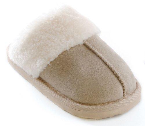 Socks Uwear , Chaussons pour fille Marron - beige
