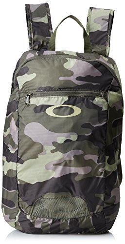Oakley zaino packable Backpack, Unisex, Rücksack Packable Backpack, Olive Camo, 43.2 x 27.9 x 15.2 cm, 18 Liter