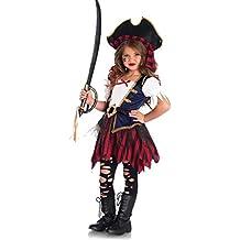 Disfraz tesoro de pirata niña 3-4 años (98/104)