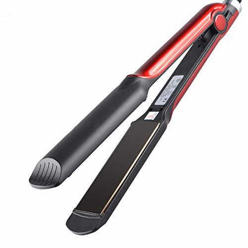 XIAONUA Pequeño alisador de Pelo: se calienta rápidamente Planchas del Pelo, planchas de peluquería versátiles, salón portátil,Red