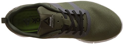 Reebok Bd2099, Sneakers trail-running homme Vert (Hunter Green/Ash Grey/Gris Coal/Alloy/White)