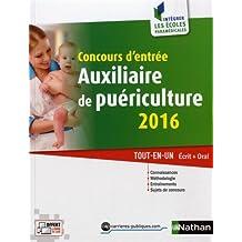 Concours d'entrée auxiliaire de puériculture 2016