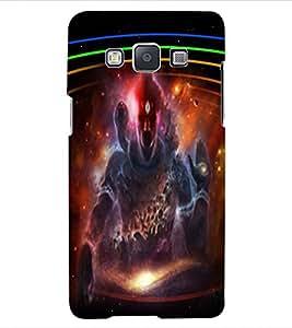 ColourCraft Lord Shiva Design Back Case Cover for SAMSUNG GALAXY E5
