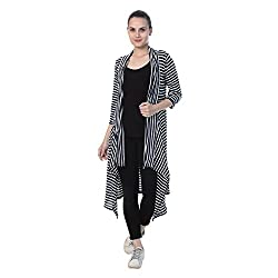 Don't miss this season a super, amazing, stunning and stylish Shrug from BuyNewTrend. The Shrug is a delight in colour which is sure to complement your wardrobe. This beautiful shrug will give you a trendy look when clubbed with matching top, inner, ...