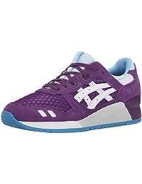 Asics Gel Lyte Iii zapatilla de deporte de moda, Purple/white, 40