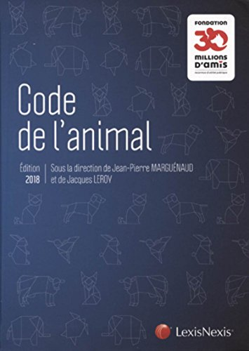 Code de l'animal par Collectif