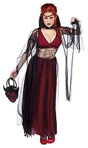 Haunted House - Disfraz la novia de Drácula, para adultos, talla única (Rubie