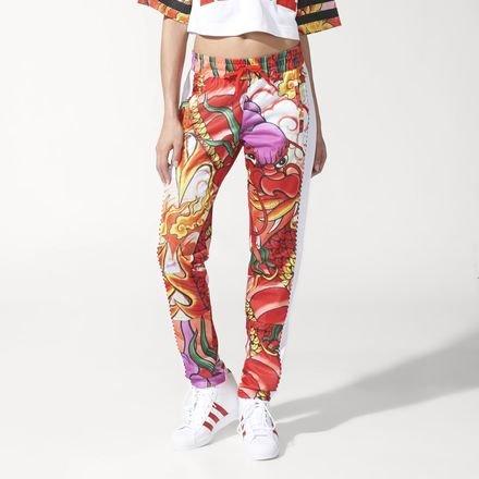 febd0e02a790d2 Adidas Originals X Rita Ora Dragon Print Track Pants - S23580 - 8