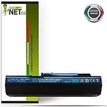 Batteria compatibile per Acer Aspire One 571 (8.9) , A110 , A150 , D150 , D250 , P531h , P531 , ZG5 e codici originali LC.BTP00.017 LC.BTP00.019 LC.BTP00.043 LC.BTP00.045 LC.BTP00.046 LC.BTP00.070 LC.BTP00.071 M08A31 UM08A31 UM08A51 UM08A52 UM08A71 UM08A72 UM08A73 UM08A74 UM08B71 UM08B72 UM08B73 UM08B74 (6600mAh Black)