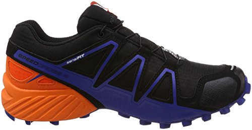Salomon Homme Speedcross 4 GTX Chaussures de Course à Pied et Trail Running Ltd Black Scarlet Surf The Web