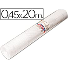 Aironfix 67000 - Rollo de lamina plástica autoadhesiva, 0.45 x 20 m, transparente