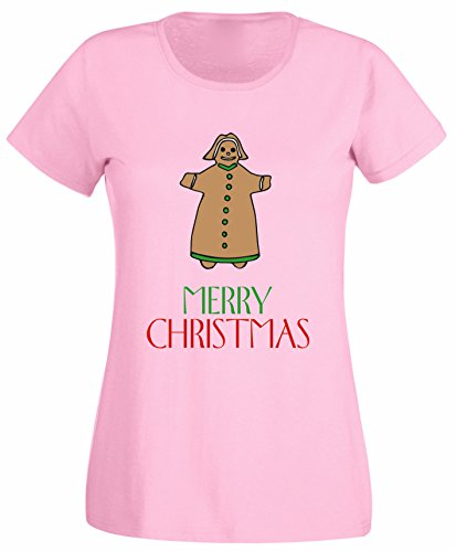 er Bread Cookie Holidays Family Party Women T Shirt Camping - White, Light Pink, Grey Colour Ladies Tshirt - Birthday Christmas Gift (Holiday Cookies)