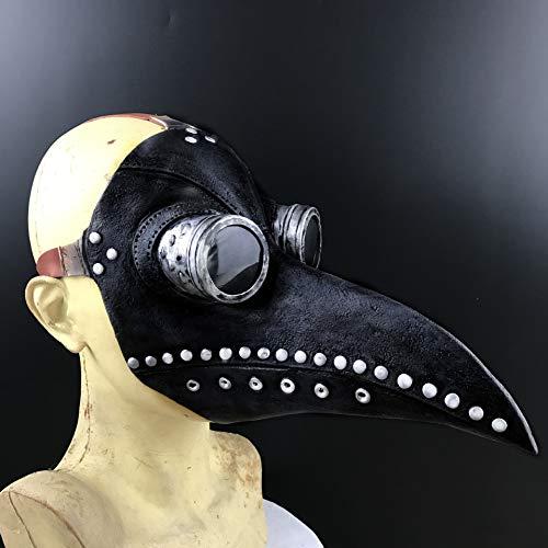 e Halloween Requisiten Kostüm Steampunk Gothic Cosplay Latex dekorative Kopfbedeckung,B ()