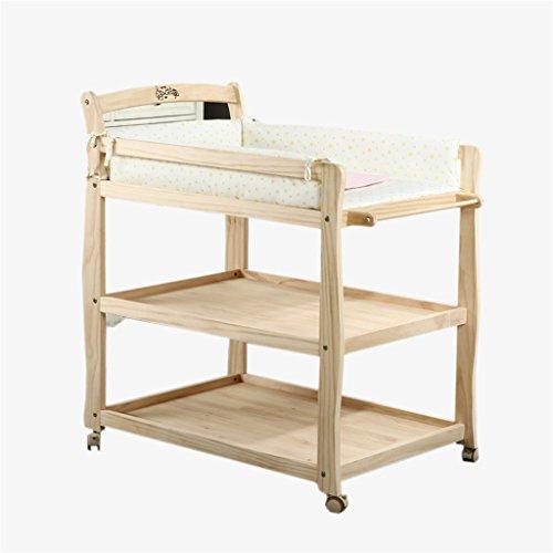 Baby Wickeltisch Baby Windel Tisch Tisch/Dusche Stand/Abnehmbare Multifunktions-Pflege Schreibtisch/Höhenverstellbare Geschenk Mat Load 60 Kg